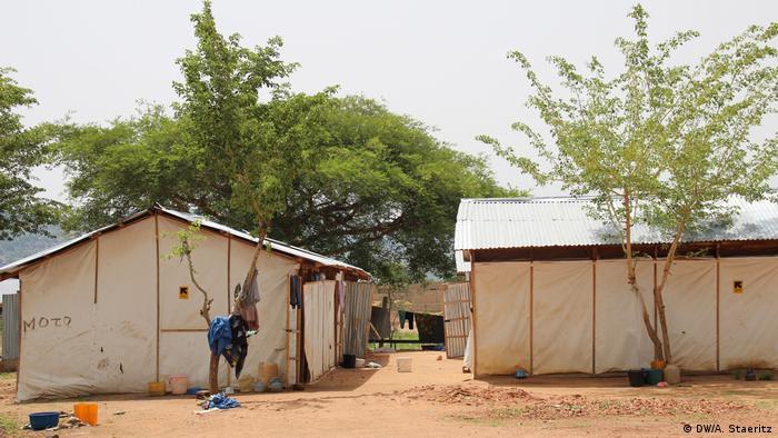 Transit refugee camp in Mubi DWA Staeritz