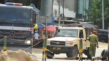 Tansania Polizei Verstärkung in Ohio