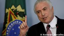 Brasilien Präsident Temer soll wegen Korruption der Prozess gemacht werden
