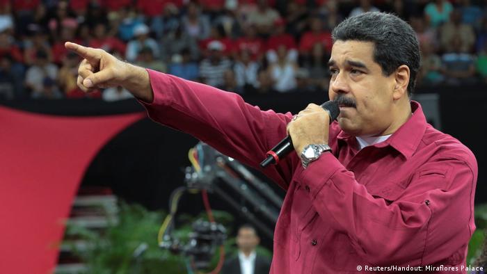 Venezuela Nicolas Maduro (Reuters/Handout: Miraflores Palace)