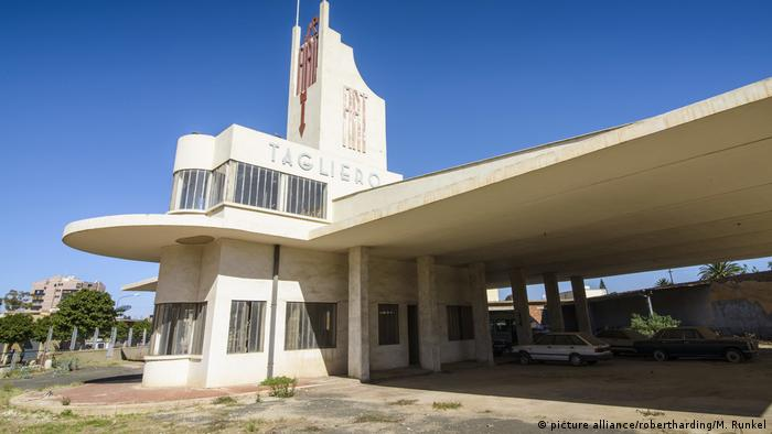 Art Deco Buildings Make Asmara, Eritrea, a Unesco Heritage Site