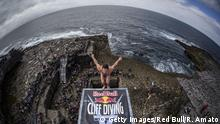 Sportfoto des Monats Juni Red Bull Cliff Diving World Series 2017