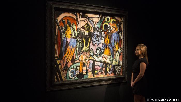 London Auktionshaus Christie's - Max Beckmann, Hölle der Vögel (Imago/Bettina Strenske)