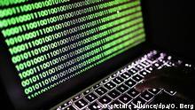 Symbolbild Cyberattacke Virus Wurm Virusattacke