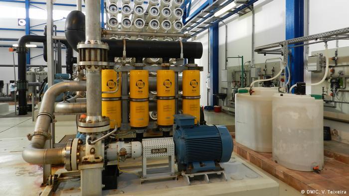 Kap Verde Wasser-Entsalzung mit europäischer Technologie (DW/C. V. Teixeira)