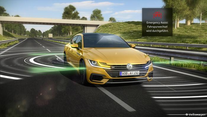 Deutscher Mobilitätspreis/ Emergency Assist – Automatische Hilfe für Autofahrer im Notfall (Volkswagen)