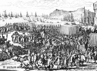 Desembarque de Guilherme 3° de Orange na Inglaterra em 5/11/1688