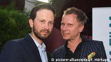 Deutschlan - Filmfest München - Robert Stadlober und Franz Dinda, neue Darsteller der Serie Das Boot