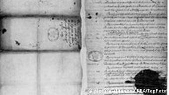 Bill of Rights England 1689