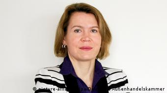 Alexandra Voss, presidenta del AHK en Pekín