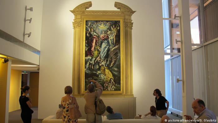 Frankreich Ausstellung in Sete - Unbefleckte Empfängnis von El Greco (picture-alliance/dpa/S. Glaubitz)
