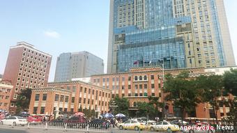 China Krankenhaus, in das Liu Xiaobo eingeliefert wurde (Imago/Kyodo News)