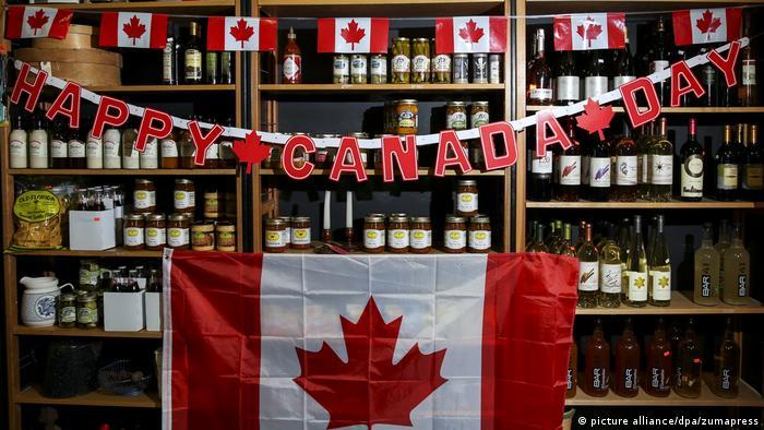 Kanada Tag (picture alliance/dpa/zumapress)