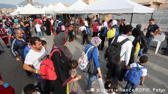 Πρόσφυγες στο Παλέρμο