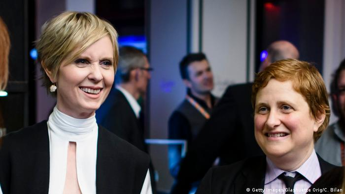 Cynthia Nixon and Christine Marinoni (Getty Images/Glashuette Orig/C. Bilan)