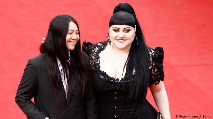 Beth Ditto und Ehefrau Kristin Ogata 2012 in Cannes (Foto: Getty Images/A. Rentz)