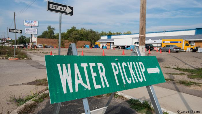 Water pollution in Flint, Michigan
