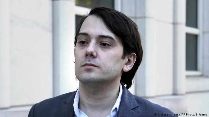 USA Martin Shkreli (picture-alliance/AP Photo/S. Wenig)