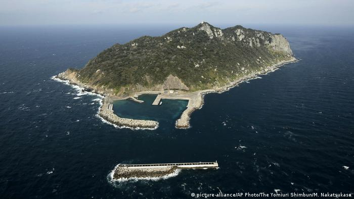 Kandidaten neue UNESCO-Welterbestätten | Japan Okinoshima (picture-alliance/AP Photo/The Yomiuri Shimbun/M. Nakatsukasa)