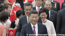 China Xi Jinping in Hongkong