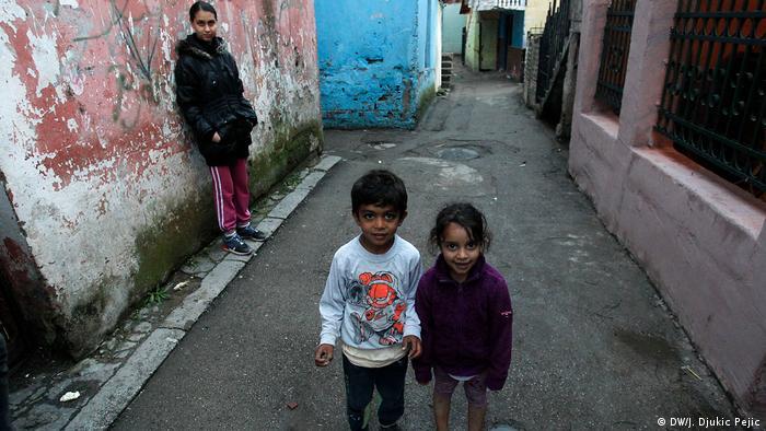 Serbien Roma-Siedlung in Nis