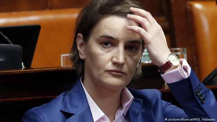 Ana Brnabić era considerata speranta politica a Serbiei
