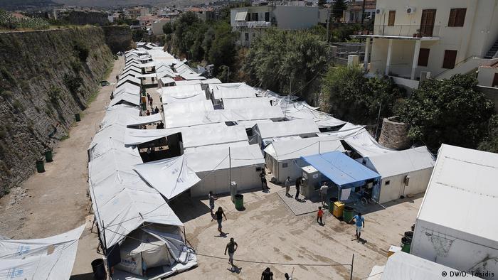 Griechenland - Die Flüchtlingslage auf Chios