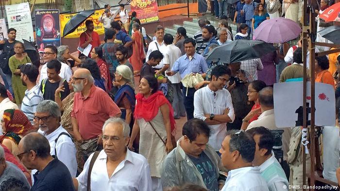 Indien Kalkutta Straßenszene