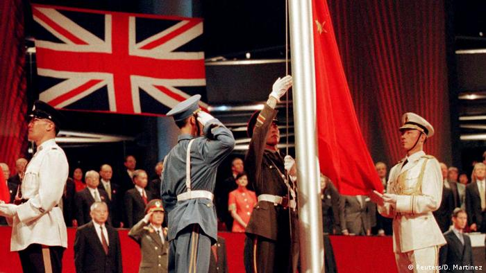 The handover of Hong Kong's sovereignty from the United Kingdom to the People's Republic of China took place on July 1, 1997. The territory on China's Pearl River Delta became a British colony in 1842 and was occupied by Japan during World War II. After Hong Kong's return to China, the political situation was described as one country, two systems.