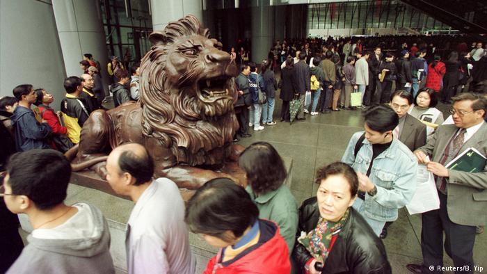 Timeline 20 Jahre Hongkong 2000 (Reuters/B. Yip)