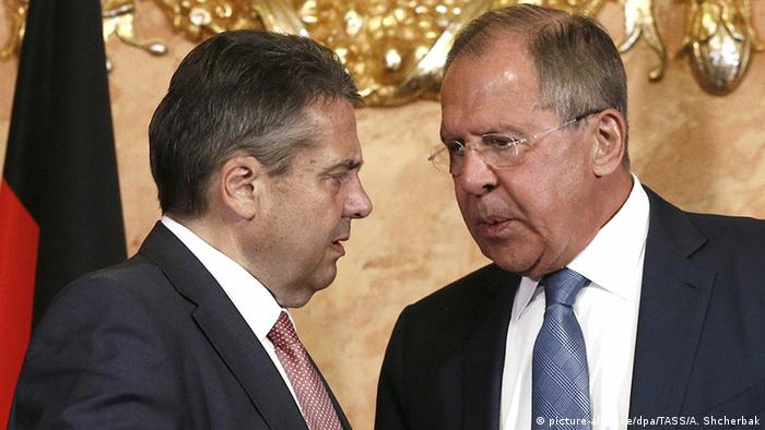 Gabriel y Lavrov en Krasnodar