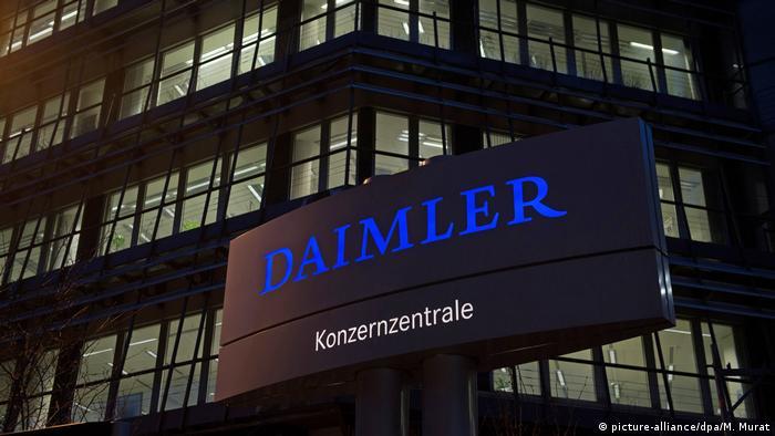 Stuttgart Daimler-Zentrale