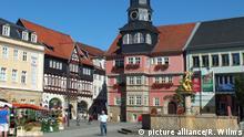 Thüringen - Marktplatz von Eisenach