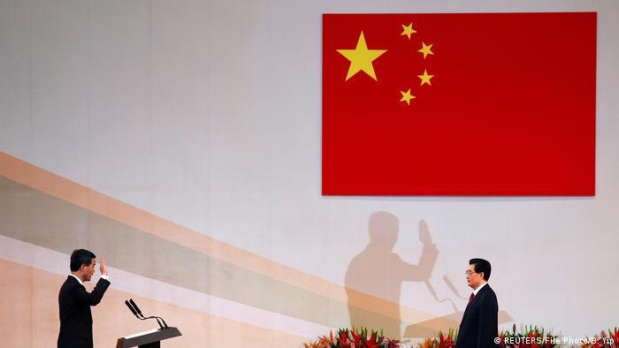 China Jubiläum in Hongkong 20 Jahre seit dem Ende der britischen Herrschaft