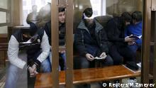 Im Fall Nemtsov beschuldigte Täter