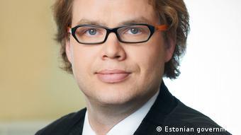 Klen Jäärats (photo provided by Estonian government)