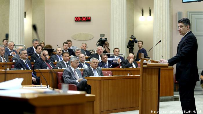 Sabor je 2015. jednoglasno donosi Zaključak kojim obvezuje Vladu na pokretanje postupka za prestanak Sporazuma o arbitraži