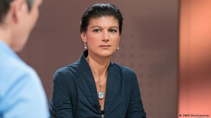 Sahra Wagenknecht (DW/R.Oberhammer)