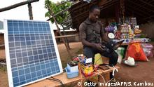 Afrika Solaranalage (Getty Images/AFP/S. Kambou)