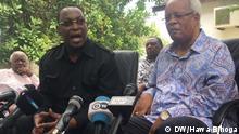 Tansania - Pressekonferenz mit Freeman Mbowe in Daressalam