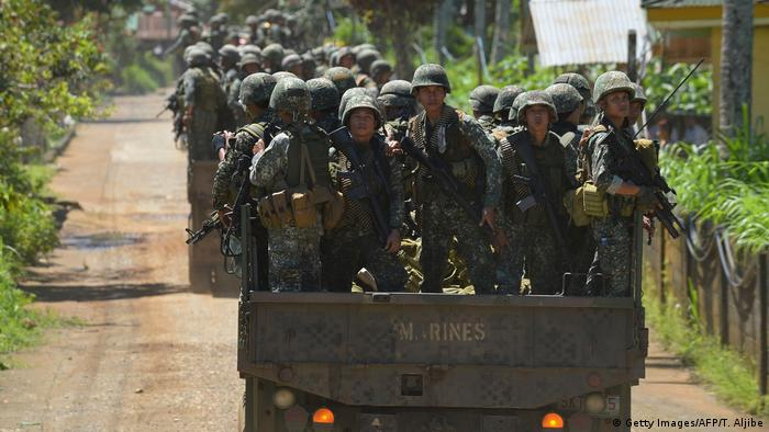 Philippinen Marawi Militär (Getty Images/AFP/T. Aljibe)
