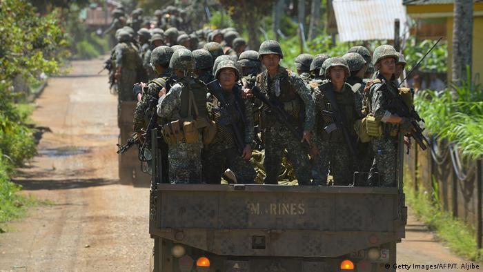 Pasukan militer Filipina (Getty Images/AFP/T. Aljibe)