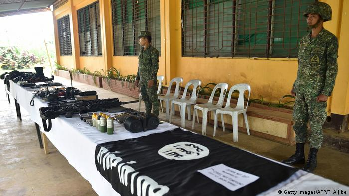 Philippinen Militärrazzia (Getty Images/AFP/T. Aljibe)