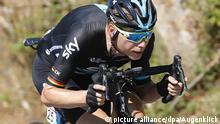 ROT // Bei einer Abfahrt Christian KNEES (Deutschland / Team Sky) - Spanien-Rundfahrt 2016 - 3. Etappe Marin - Mirador Ezaro - Spanien-Rundfahrt - SpanienRundfahrt - Spanien Rundfahrt - Vuelta - |