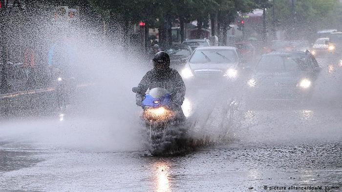 Chuva em Berlim