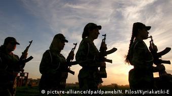 Iraks weibliche Kämpfer