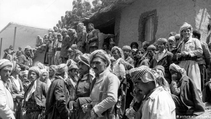 Irak Kurdenkonflikt im Irak 1974 (picture-alliance/dpa)