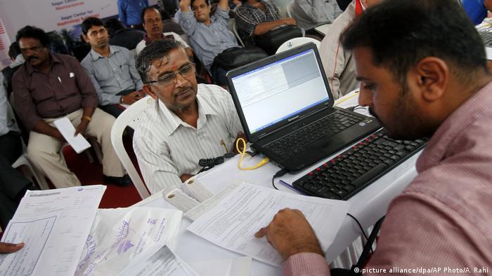 Indische Steuerzahler