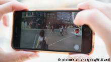 Handyvideo smartphone video