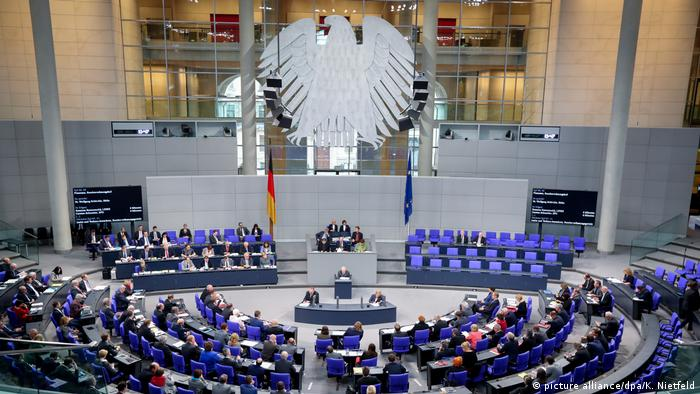 Deutschland Bundestag (picture alliance/dpa/K. Nietfeld)